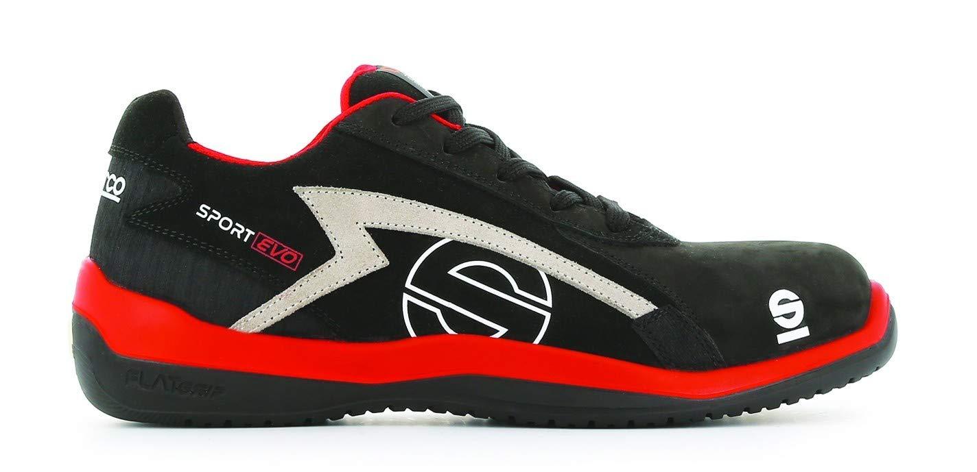 Sparco S0751645RSNR Zapatillas Sport EVO Negro Talla 45
