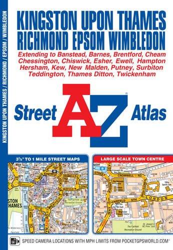 Read Online Kingston Upon Thames & Richmond Street Atlas ebook