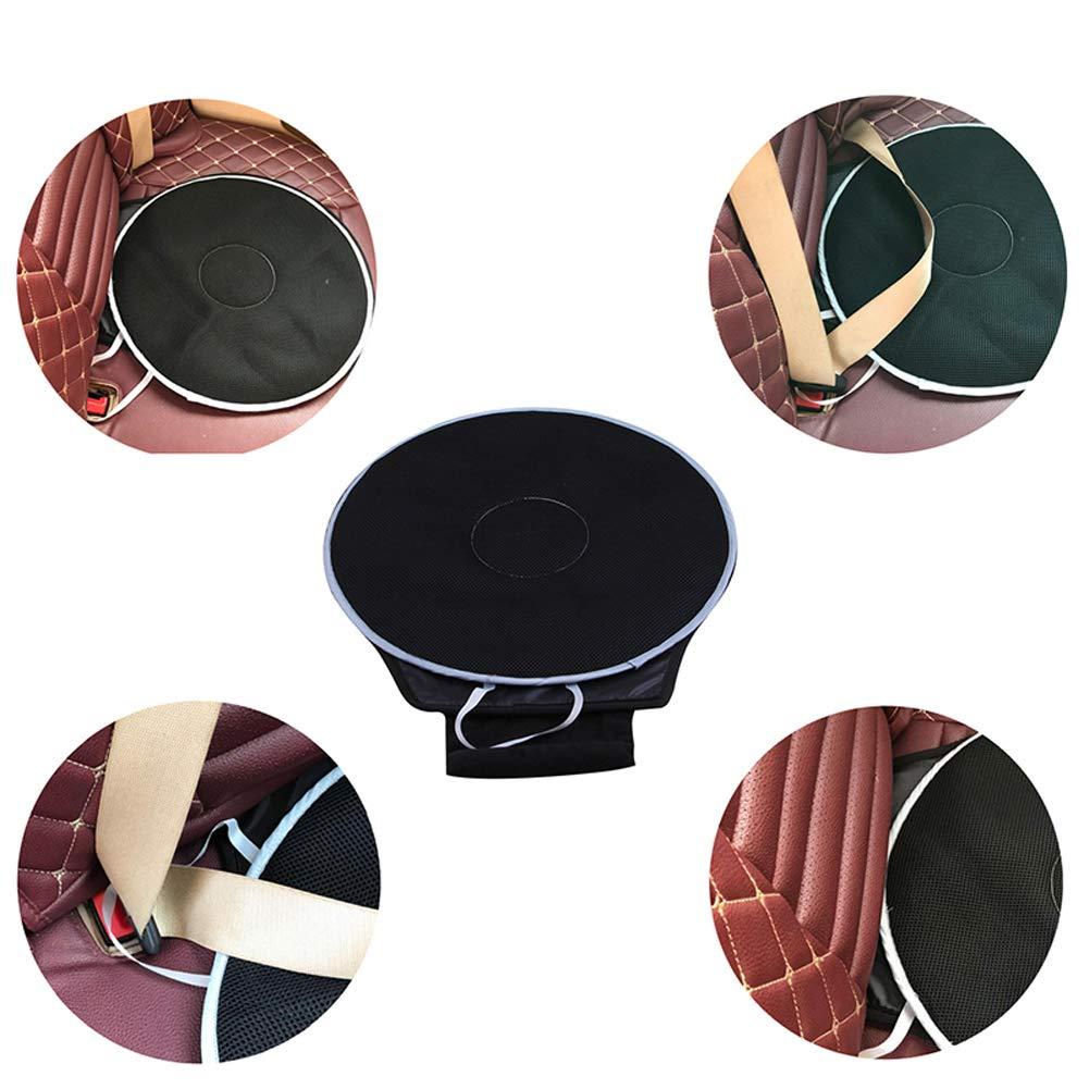 cuscino del sedile girevole automatico caff/è design del disco di trasferimento flessibile per auto o sedia Cuscino 16 x 1 Disco di rotazione a 360 /° Xihaoer