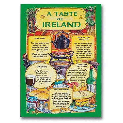 Irish T-Towel with Recipes from Ireland (Recipe Towel)