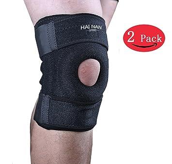 655c95f718 Knee Brace Support Sleeve for Arthritis, Meniscus Tear, ACL, Running,  Basketball,