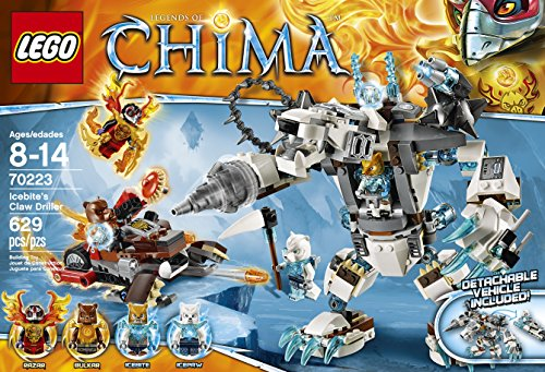 LEGO Chima 70223 Icebites Claw Driller
