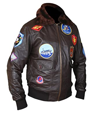 03d1fb14286 F H Men s Top Gun Pete Maverick Tom Cruise Flight Bomber Jacket at ...