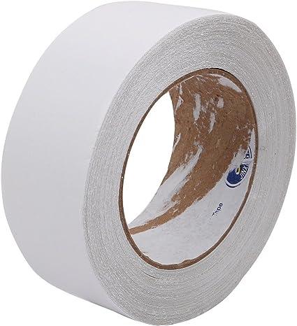 uxcell Cinta adhesiva de doble cara de tela de algodón, 50 mm de ancho, 20 m de longitud: Amazon.es: Oficina y papelería