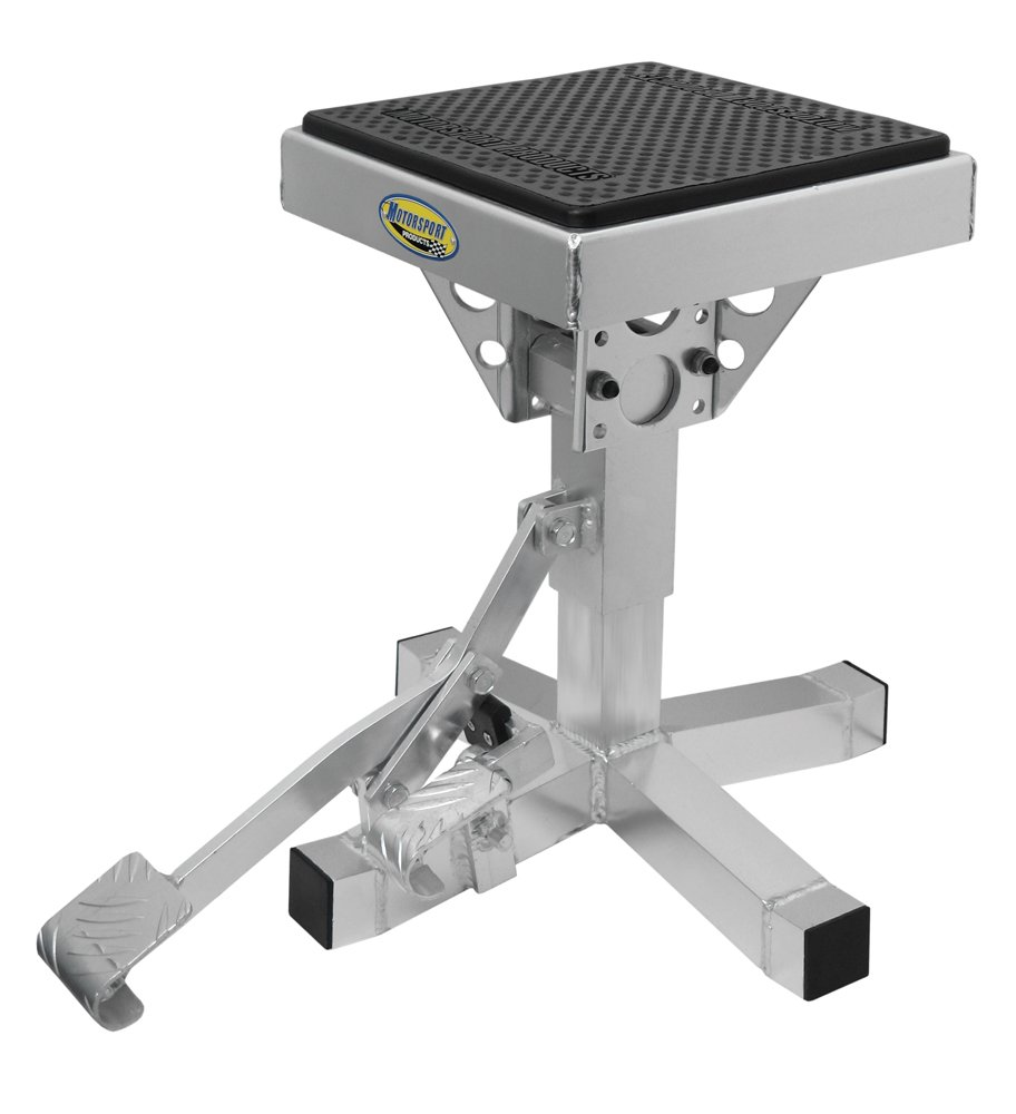 Motorsport Products 92-4001 Silver P12 Adjustable Lift Stand