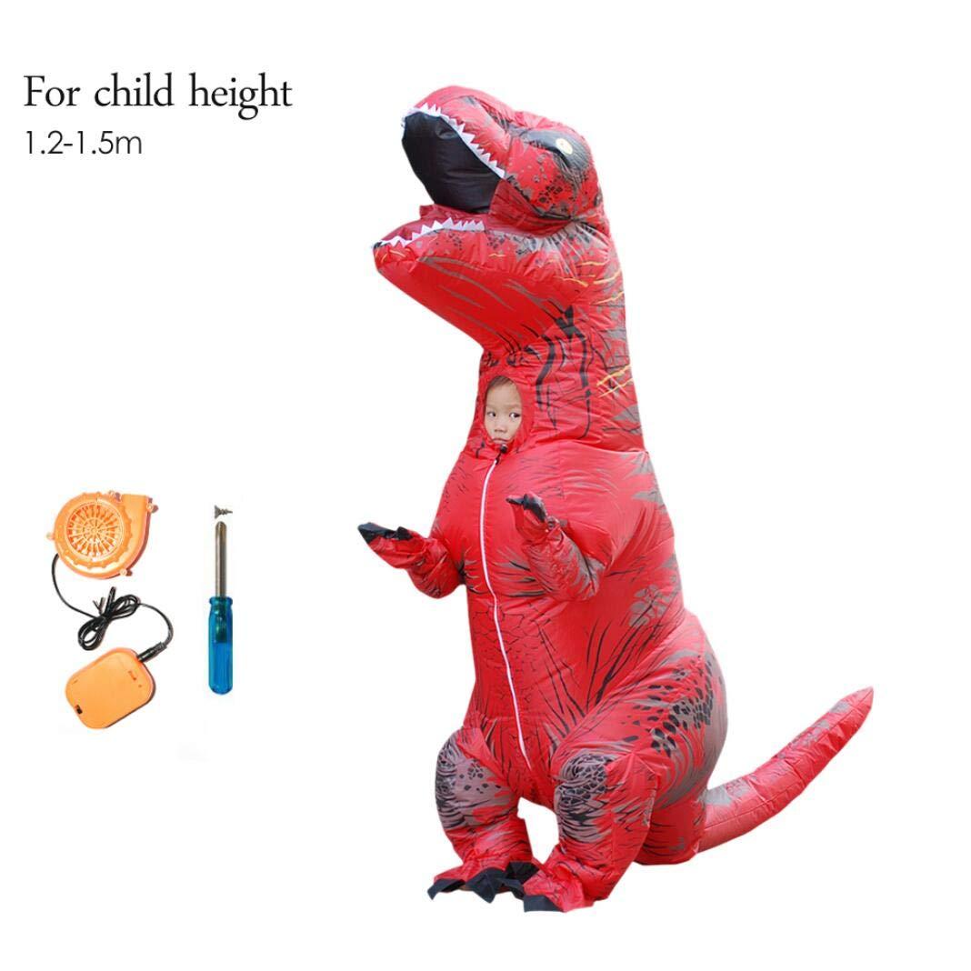 SHUFEI Dinosaurio T-Rex, Traje De Dinosaur,Halloween Cosplay ...