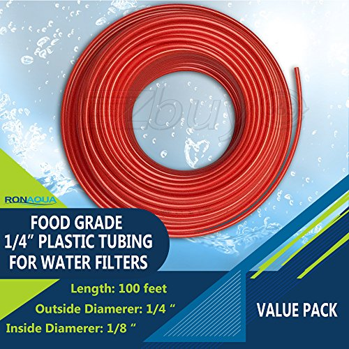 Food Grade 1/4 Inch Plastic Tubing for RO Water Filter Syste