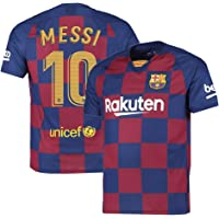JS Barcelona Home Football Jersey - (for Kids&Men's)
