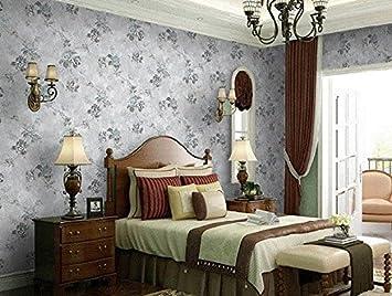 Reyqing Retro Pastorale Non Woven Tapete Kleine Florale Schlafzimmer  Kleidung Der Frauen Speichern Hintergrund Wand