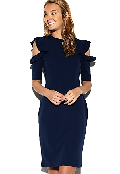 Vestidos azul marino mujer