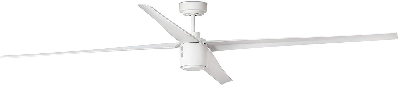 FARO BARCELONA 33494 - ATTOS LED Ventilador de Techo Blanco con Motor DC: Amazon.es: Hogar
