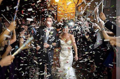 Confetti Sticks Flutter fetti White Tissue Confetti Paper Confetti Flickers 14inch - 125pieces by Confetti