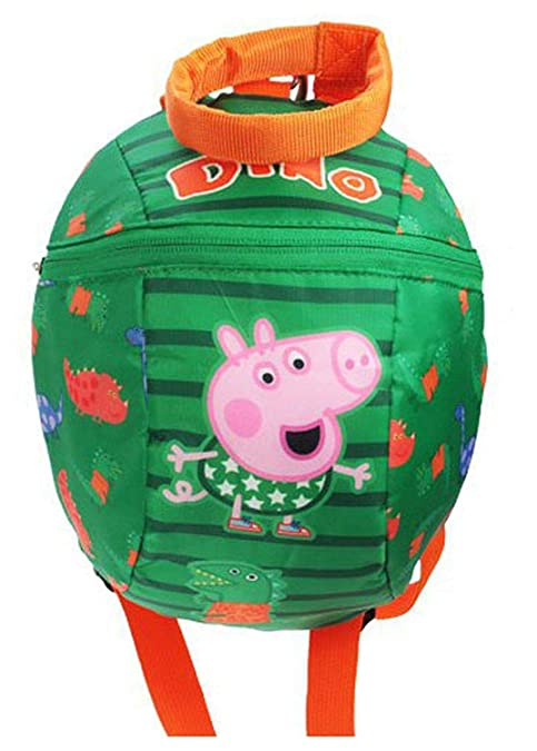 Peppa Pig Bebés Mochila con Tiras Disponible en Peppa o George - Verde/Varios - Tallas Reino Unido 1-1 - Verde/Variados, 33 EU: Amazon.es: Zapatos y ...