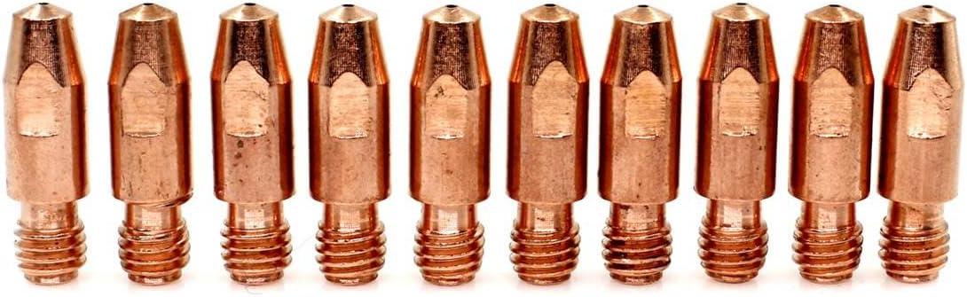 Kontaktspitze 140.0313 /Ø 1,0 mm M8 X 30mm f/ür Binzel MB 36KD MIG//MAG Schwei/ßbrenner 20 St/ück