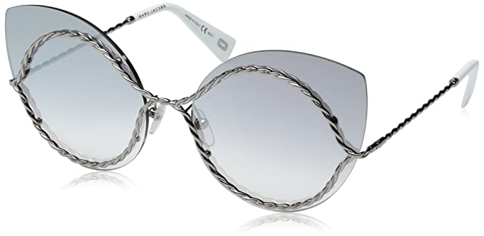 4a879d54f925 Marc Jacobs Women's Marc161s Cateye Sunglasses, RUTHENIUM, 61 mm