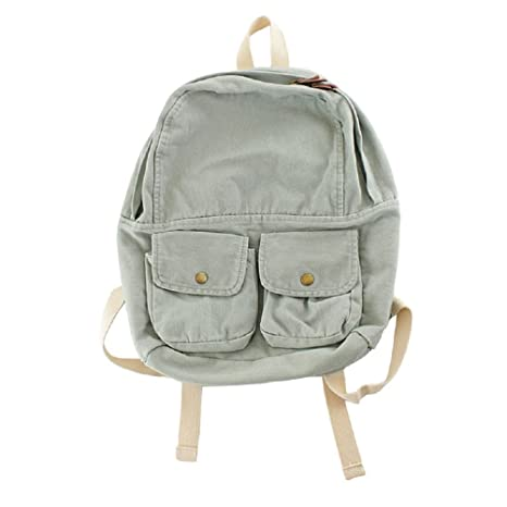 36e8f31e7f28 Amazon.com  MiCoolker Fashion Canvas Backpacks for Women Cute College Denim  School Backpack Purse for Girls Travel Backpack  Sports   Outdoors