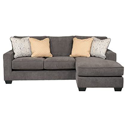 Attrayant Ashley Hodan 7970018 93 Inch Sofa Chaise With Pillows Included Loose Seat  Cushions And Track
