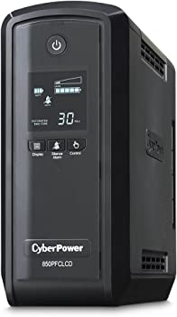 Cyber Power PFC 850VA LCD Sinewave Adaptive Intelligent UPS