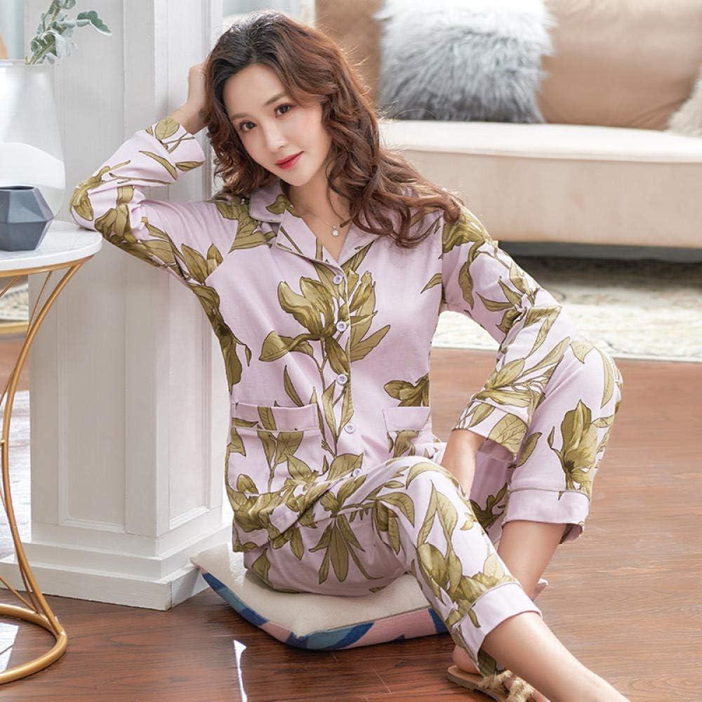 Pijamas de Mujer Pijama de algodón para Mujer, Conjunto de Pijama ...
