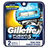 Gillette Fusion5 ProShield Chill Men's Razor Blade Refills, 2...