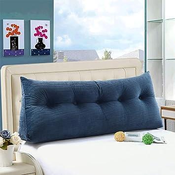 Amazon.com: wowmax grande relleno triangular sofá cama Back ...