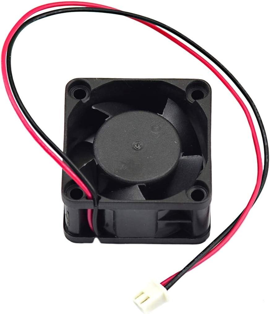 5V 3.9cm Cooling Fan Fan-Cooled Radiator Motors Brushless DC Fan for Computers Color : Black