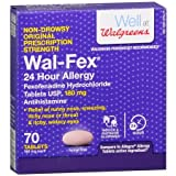 Wal-Fex 24 Hour Allergy Relief Tablets - 3PC