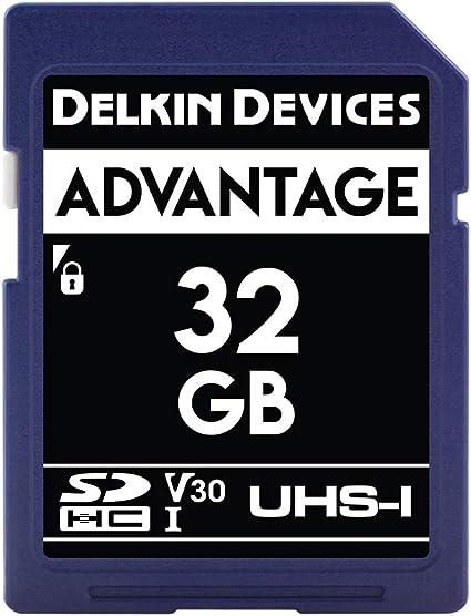 Amazon.com: Delkin – Tarjeta de memoria SDHC de 32 GB 633 x ...