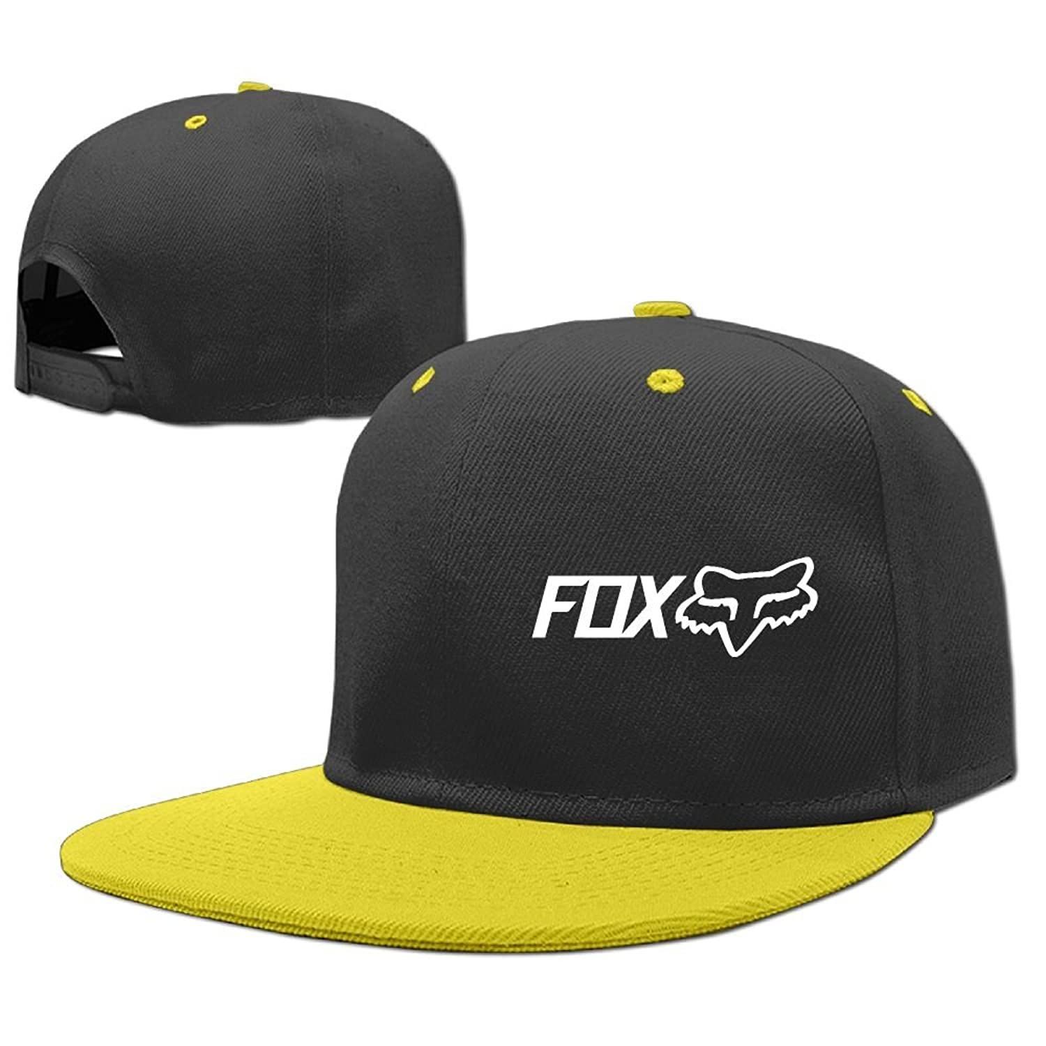 Children s Hip Hop Baseball Cap Fox Racing Shox Kid s Cute Cool Fitted Cap  with Adjustable Snapback 39f5bbdfc159