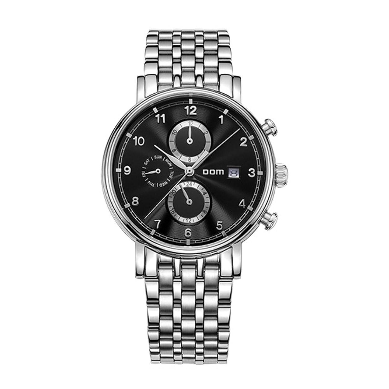 Sheli Herrenuhren Top Marke Luxus Schwarzem Zifferblatt Wasserdicht Mechanischen Edelstahl Watch Business Reloj