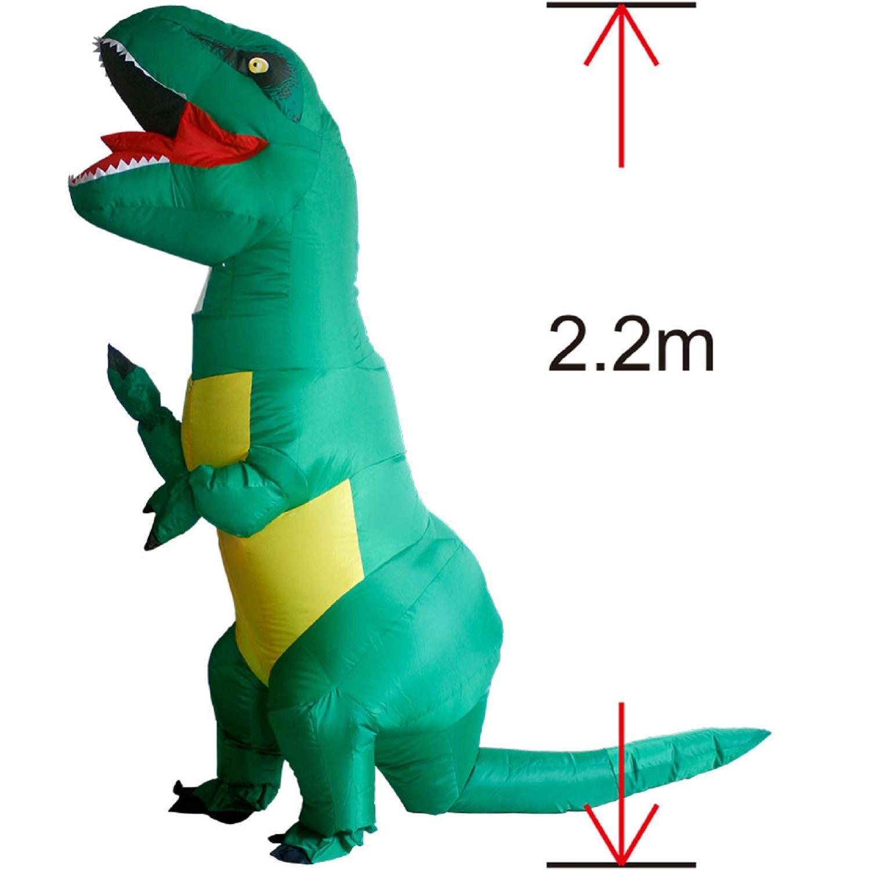 Amazon.com: Adulto T-Rex Dinosaurio Disfraz Cosplay de ...