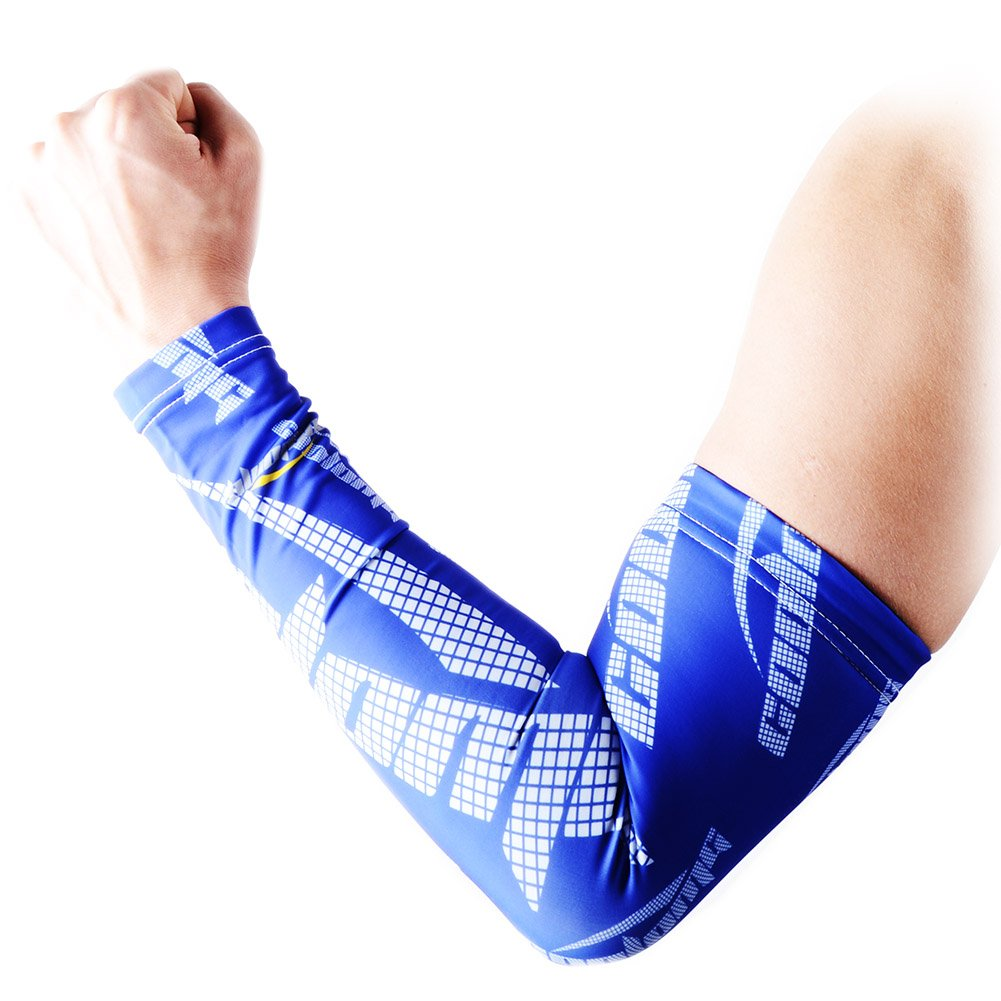 COOLOMG Anti-Slip Arm Sleeves Cover Skin Protection SP017BK/_L-P