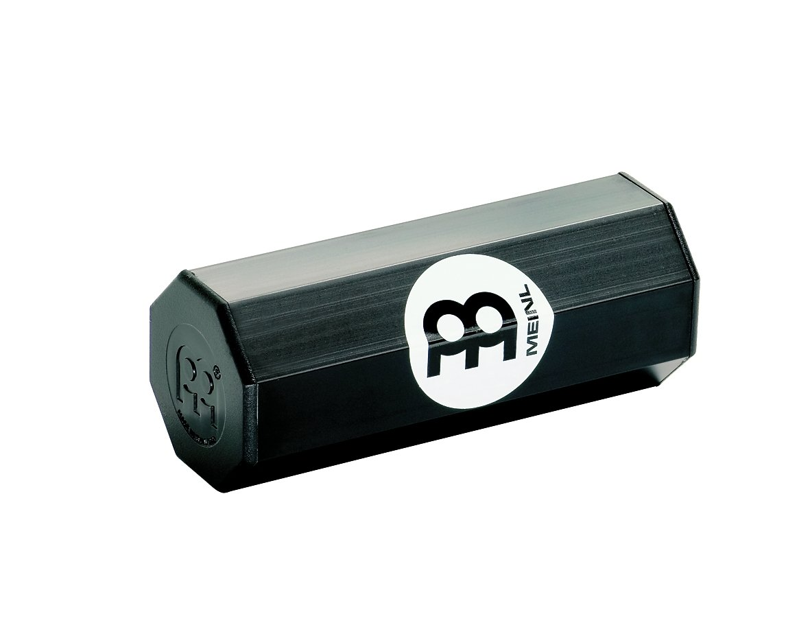 Meinl Percussion SH8BK Aluminum Octagonal Shaker, Small, Black by Meinl Percussion