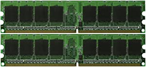 New! 4GB (2x2GB) DDR2-667 Dell OptiPlex GX620 Memory PC2-5300