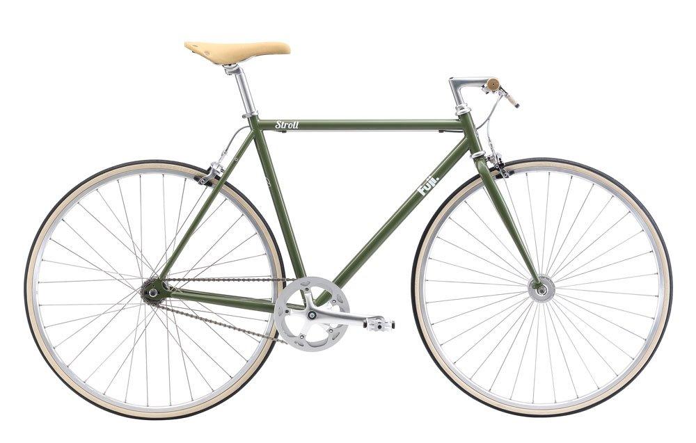 FUJI(フジ) STROLL 54cm シングル KHAKI クロスバイク 2018年モデル 18STRLGR KHAKI 54cm B075SSGY29