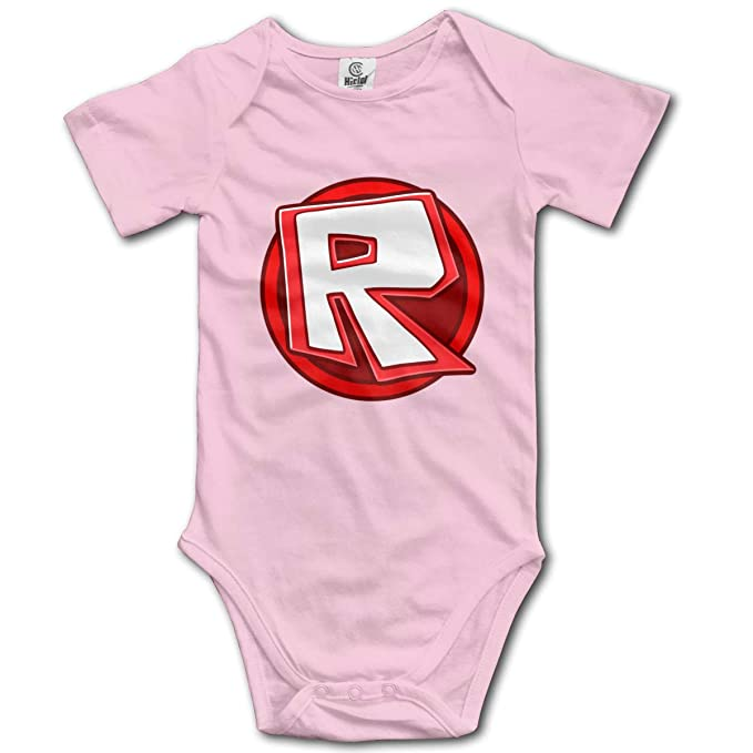 Amazon com: Baby Boys Girls Roblox-Logo Newborn Short