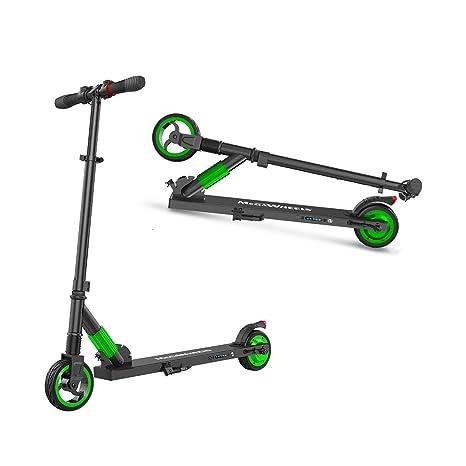 M MEGAWHEELS Elektro Scooter - Phantom Pro Klappbarer City-Roller, Tret-Roller für Erwachsene und Kinder S1