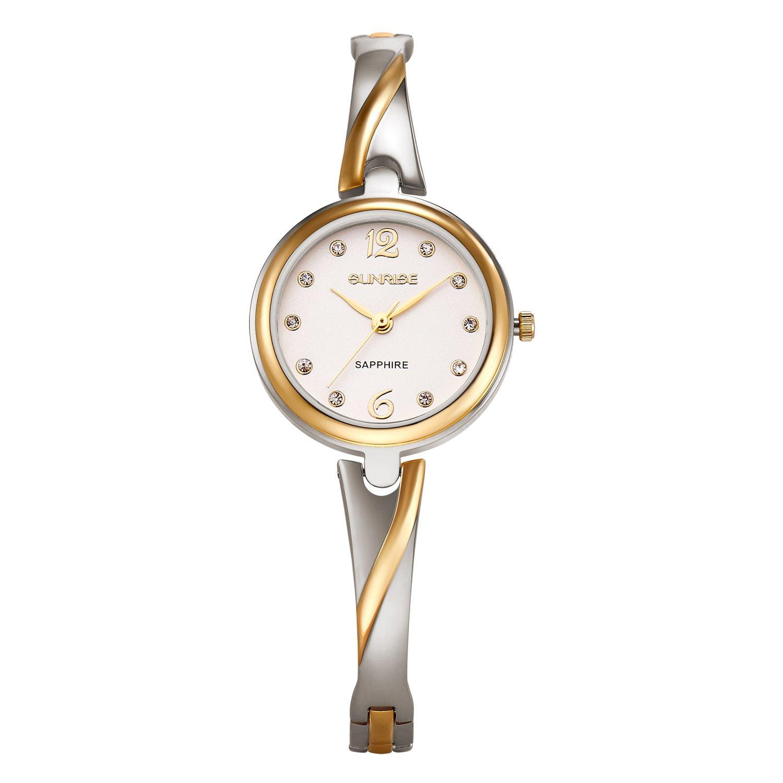Lady Bracelet Wrist Quartz Watch Stainless Steel with Fashion Style Women Watches