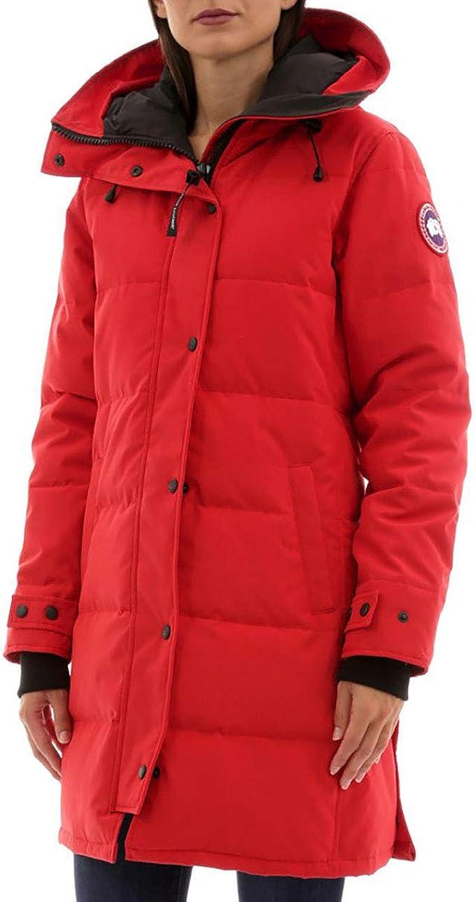 Canada Goose 加拿大鹅 Shelburne 女式派克大衣羽绒服(无毛领)3802LNF XS码 9折$805.5 海淘转运到手约¥5357