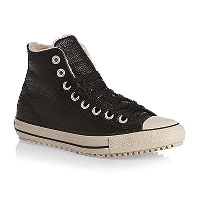 Converse Herren Schuhe Chucks Chuck Taylor Leder mit Warmfutter Winterboots CT All Star Boot Schwarz Sneakers Schwarz Gr. 41