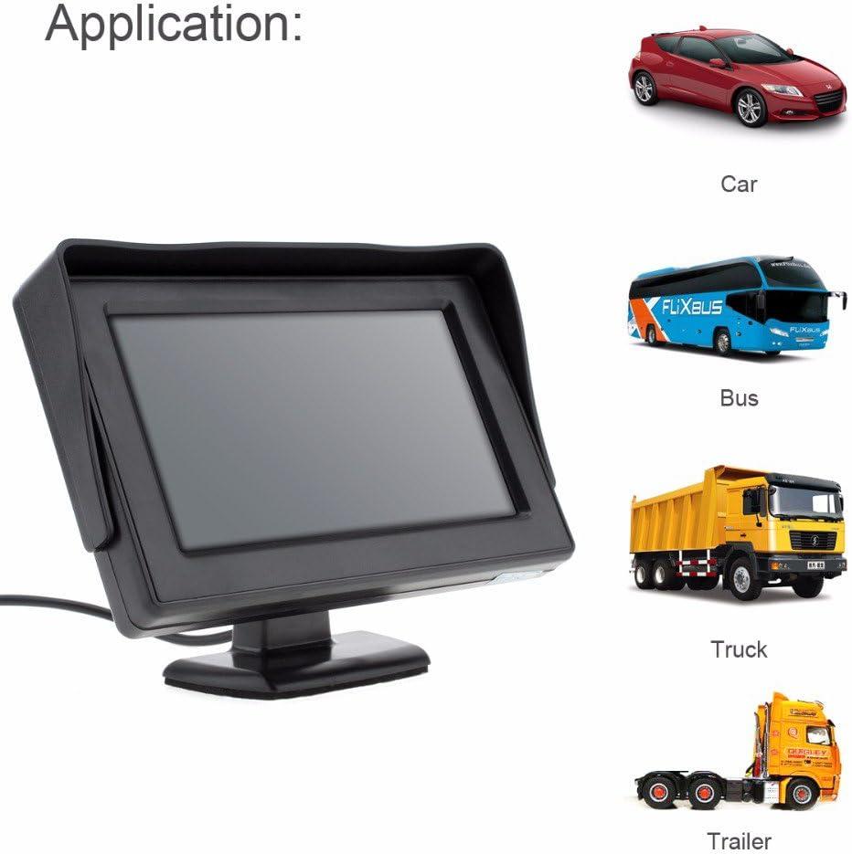 Kalakass 4 3 Zoll Tft Lcd Digital Auto View Monitor Als Elektronik