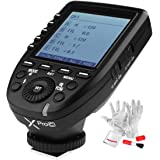 Godox Xpro-C TTL Wireless Flash Trigger for Canon 1/8000s HSS TTL-Convert-Manual Function Large Screen Slanted Design 5…