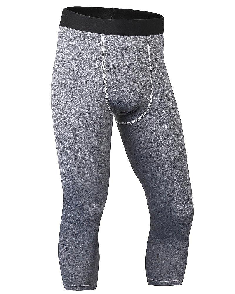 Pantaloni a Compressione Leggings Da Running Asciugatura Rapida Da Uomo
