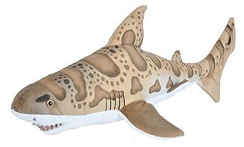 Amazon Com Wild Republic Leopard Shark Plush Stuffed Animal Plush