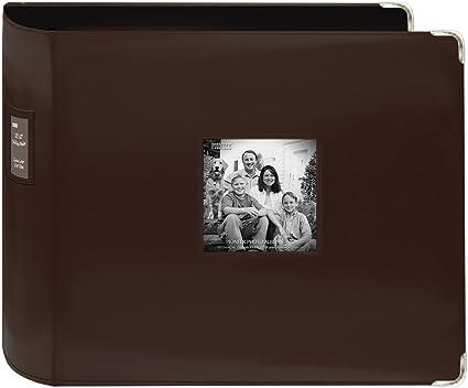 Amazoncom Pioneer 3 Ring Sewn Leatherette Album 12x12 Brown Arts