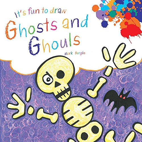 It's Fun to Draw Ghosts and Ghouls (Halloween Fun Ideas Craft)