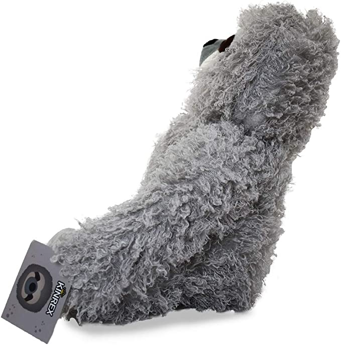 KINREX Three Toed Sloth Stuffed Animal Girls and Adults Super Realistic Floppy Large Plush Toy for Boys Measures 13 inches // 33 cm