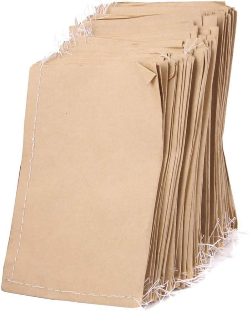 200 Pcs Blank Seed Storage Bag Kraft Paper Seed Packets Empty Seed Bags for Flowers Wildflower Party Favors Wedding Vegetables Sunflower SANGDA Seed Packet Envelopes