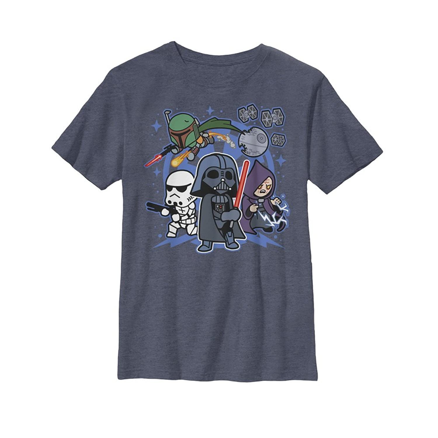 cheap Star Wars Boys' Empire Cartoon Characters T-Shirt big discount
