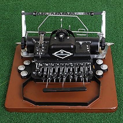 GONGYIPIN Artes del Metal Alto Grado Lata máquina de Escribir Modelo fotografía Accesorios decoración Regalos,